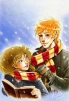 HP_Under the snow_R_Hr by mary-dreams