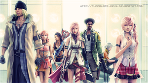 Final Fantasy XIII Characters by cHoCoLaTe-DeViL