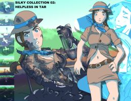Silky Collection 02: Helpless In Tar by Silkyfriction