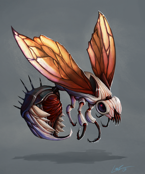 Wither Wasp by Lanasy