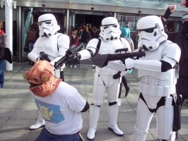 Stormtroopers and Ackbar by Cazza2010