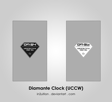 Diamante Clock (UCCW) by In2uition