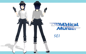 MMD Newcomer- Sei (DRAMAtical Murder) by Therapii