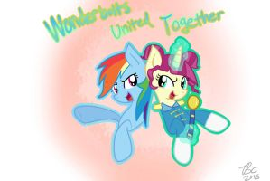 Wonderbolts United Together! by BronyCooper