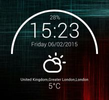Half Moon Widget for xwidget by jimking