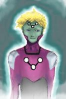 Brainiac 5 colored by OrandeArt