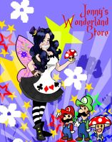commission Jenny's wonderland store by ANTONIOMASTERPERES