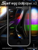 Spirit Egg Wallpaper V3 iPhone by Benjamin-Dandic