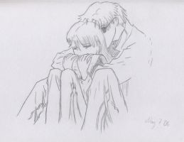 Hold Me and Never Let Go by Miya-K