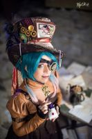 Steampunk Mad Hatter - Original cosplay by TwiSearcher85