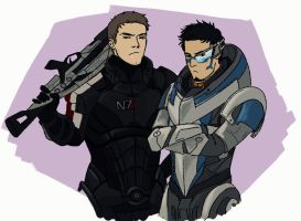 30 Days OTP Challenge   Day 7 - Cosplaying by allahdammit