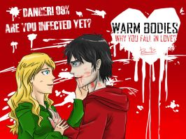 Warm Bodies 2013 by benkomilk