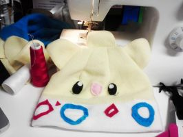 Togepi Hat by CosmiCosmos