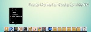 Frosty Docky theme by irider89