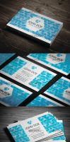 Prism Style Business Card by vitalyvelygo