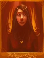 Tarot: The Queen of Hearts by DM7