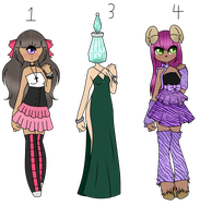 Mix Adoptable's ~ SOLD~ by xXxSHIPPOxXx