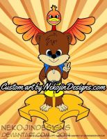 Banjo and Kazooie! by nekojindesigns