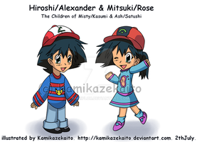 The Children of Misty and Ash by Kamiflor