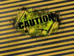 caution by kolabok32