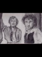 Enjolras and Grantaire (2013) by hashhbrown