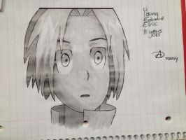 Young Edward Elric by CadenceWolf2443