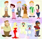 Avenue Q cast of characters by Ciro1984