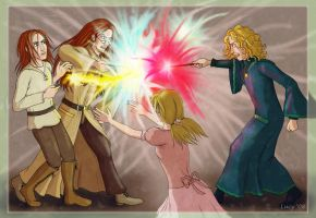 the fatal duel by Loony-Lucy
