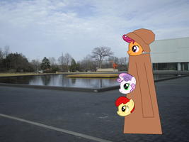 The Cutie-Mark Crusaders In An Overcoat by Eli-J-Brony