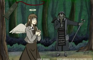 Haibane Renmei - Day of Flight by strawberrygina