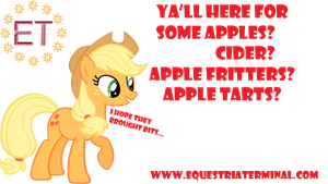 Applejack Display by thecoltalition