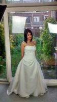 Wedding Dress by Bella-Eugenia