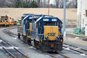 CSX Richmond yard by xshadow259