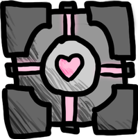 Simple- Weighted Companion Cube by Chell-Johnson