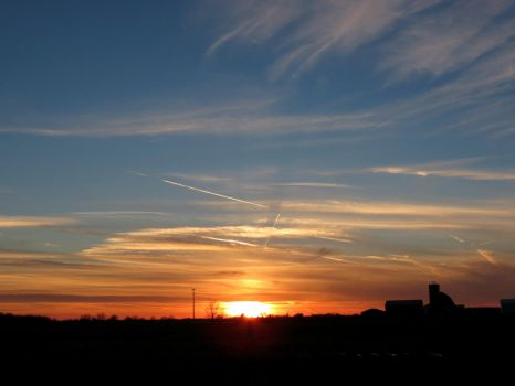 February 19th Sunset.. by Michies-Photographyy