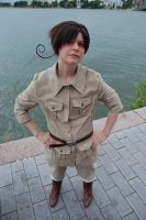 APH- Romano cosplay by Berumi
