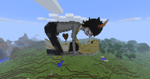 Minecraft Thing by Kathaaa
