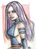 Psylocke. by Jojomonsterz