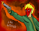 Grifter sketch 1 by jddishmonart