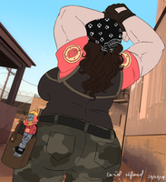 Heavy Booty Reporting For Duty by EmzieTowers