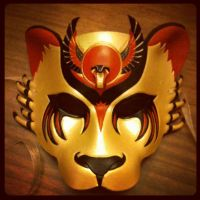 Sekhmet Lioness Mask by b3designsllc