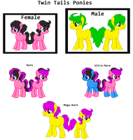 MLP:Twin Tails Species -OPEN- by kiananuva12