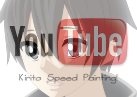 Kirito Speed Painting! by MarxeDP