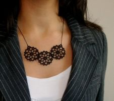 Beautiful Bouquet necklace by baronyka