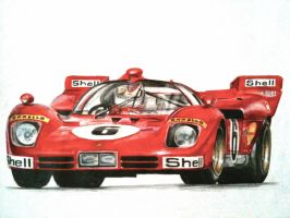 Ferrari 512s by JamesWoodhead
