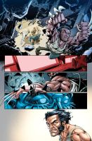X-Men sample colors by MarkHRoberts