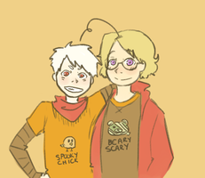 Dorky Halloween Shirts by weeaboo-sensei