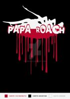 Papa Roach in Poland T-shirt by radQ