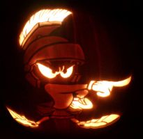 Marvin The Martian by nadagast