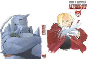 FMA - The brothers Elric by TimeOcean